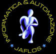 Link: Internet  Logo of www.jaflos.it: Computer science, informatics & automation in  San Giovanni in Fiore  web site realisation - download sources of web site - services - headlines...free download asp sources jaflos web site; net works, promoter to e-learning and Information Tecnology, Telecommunications, Internet Thelephony, Wireless Thelephony, Computer Science for Art...