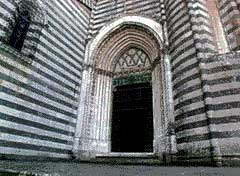 Mediterranean Architecture: Orvieto Cathedral - links to tourism informations