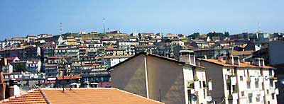 View of modern San Giovanni in Fiore  Photography: Gaetano MASCARO, copyright 2003  for a History of italians and florenses mass emigration